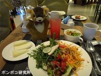 パークロイヤルの朝食とミャンマー食堂の昼食 - ポンポコ研究所