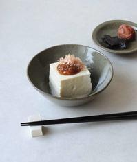 田谷直子さんの台形鉢と小皿 - 暮らし用品便り