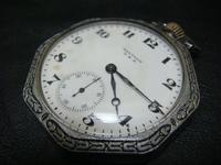 アンティーク WALTHAM 八角形 懐中時計 - アンティーク(骨董) テンナイン