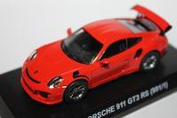 1/64 PAO FENG PORSCHE Taiwan 7-11 Limited 911 GT3 RS (991/1) - 1/87 SCHUCO & 1/64 KYOSHO ミニカーコレクション byまさーる