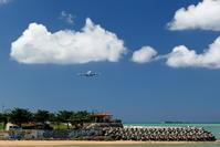 沖縄 夏本番 - 南の島の飛行機日記