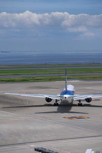 HND - 389 - fun time (飛行機と空)