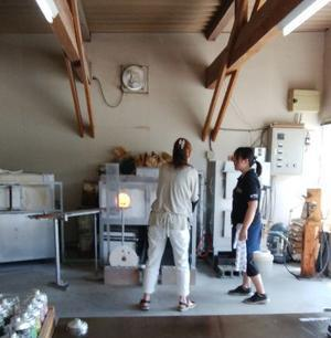 吹きガラス初体験 - 横浜元町のネイルサロンMAUVEの情報サイト~revue au Mauve~