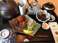 15日 広島産酒粕とGABA米粉の香味唐揚げ@豊栄ごはんくらす - 香港と黒猫とイズタマアル2