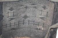 古布 木綿 紙縒り 脚絆 Japanese Antique Textile Koyori-paper Kyahan - 京都から古布のご紹介