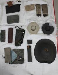 古布 木綿 紙縒り アイテムズ Japanese Antique Textile Koyori-paper items - 京都から古布のご紹介