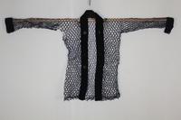 古布 木綿 紙縒り 汗はじき Japanese Antique Textile Koyori-paper Asehajiki - 京都から古布のご紹介