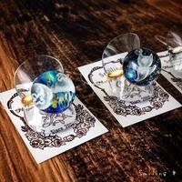 [マンガアートさん] クラゲのアクセサリーを納品しました♪新作のクリオネバージョンも(^o^) - Smiling * Photo & Handmade 2 動物のあみぐるみ・レジンアクセサリー・風景写真のポストカード