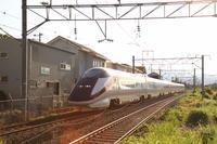 ちょっとだけよ福島遠征⑧~逆光を行く~ - 新幹線の写真