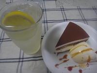 ケーキセット - ダッチオーブン料理とイタリアンカフェ ブル・チェーロ