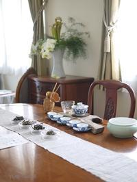 7月のお楽しみの中国茶 - お茶をどうぞ♪