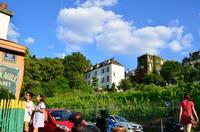 モンマルトル美術館の庭と、ジャン・ノエル・アトンのシャンパン。 - keiko's paris journal                                                        <パリ通信 - KSL>