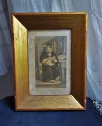木製金彩額774 - スペイン・バルセロナ・アンティーク gyu's shop