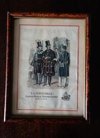 木製額776 - スペイン・バルセロナ・アンティーク gyu's shop