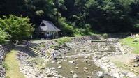 「今出せせらぎ園」で川遊び。 - sajisaji