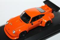 1/64 Kyosho PORSCHE Orginal (Hobby Route) 911 RSR TURBO - 1/87 SCHUCO & 1/64 KYOSHO ミニカーコレクション byまさーる