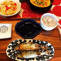 鮎の塩焼きとアンチョビキャベツ! - ワタシの呑日記