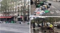 祭りのあと Champs Elysées, après la grosse fête. - France33
