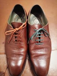 【CLEMATIS】オーダーシューズにオーダーシューレース - Shoe Care & Shoe Order 「FANS.浅草本店」M.Mowbray Shop