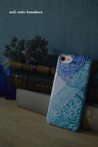 ◆デコパージュ*暑いのでiPhoneケースをお着替えしました! - フランス雑貨とデコパージュ&ギフトラッピング教室 『meli-melo鎌倉』