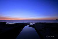 river mouth - A  B  C
