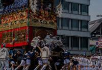 祇園祭前祭~山鉾巡行(長刀鉾~芦刈山まで) - 鏡花水月