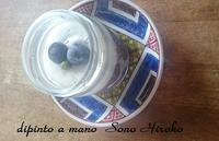 石畳文様皿にお洒落アイス☆ - Italian styleの磁器絵付け