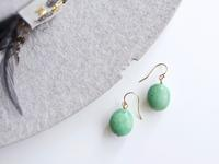 koaniani ☆ Turquoise One Point Earrings - Photo koaniani