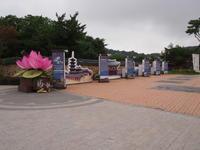 2017.7 古宮と蓮の花を巡る旅part23 扶余 定林寺址 - 韓国ホリックかも?