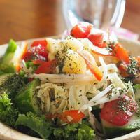 【サラダ】エスニック系サラダ - 『with F』わたしたちの日常にたくさんのwithを...お花で癒やされ、発酵やさしいごはんで自分をつくり、旅で楽しむ☆