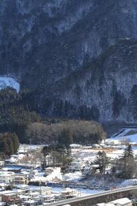 雪山の麓の白煙 - 東武鬼怒川線・2017年冬 - - ねこの撮った汽車