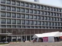 福島県警新庁舎開所式 - 漆器もある生活