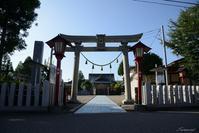 和田八幡宮 - 今日の空+α2