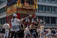 祇園祭前祭②~山鉾巡行(月鉾~船鉾) - 鏡花水月