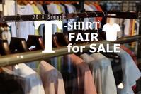 """T-Shirtフェア for SALE!!~明日7/20friより...7/19thu"" - SHOP ◆ The Spiralという館~カフェとインポート雑貨のある次世代型セレクトショップ~"