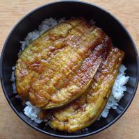 なす蒲焼き丼 - ツジメシ。プロダクトデザイナー、ときどき料理人