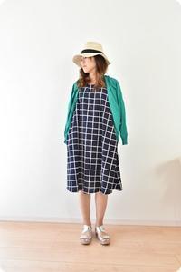 Aラインワンピース販売開始しました♫ - 親子お揃いコーデ服omusubi-five(オムスビファイブ)