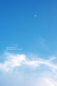 夏空と三日月 - jumhina biyori*