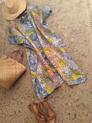 アフリカン プリントのドレス その2 - ダイアリー