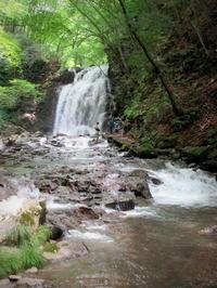 ②暑中お見舞い*浅間大滝~豪快な水しぶきに涼む♪ - ぴきょログ~軽井沢でぐーたら生活~