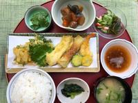 天ぷら★(^^♪・・・・・700円ランチ - 日だまりカフェ