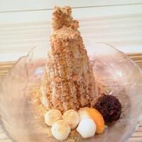 岩田屋「白玉屋新三郎」2回目 - 福岡の抹茶かき氷