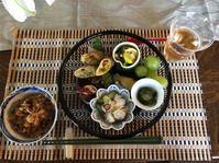 6月の料理教室とキリムのお茶会 - 料理画報