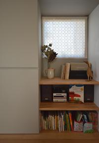 つくばH邸住まわれてから・・・出窓のある多目的室 - atelier kukka architects