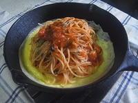 鉄鍋ナポリタン - ダッチオーブン料理とイタリアンカフェ ブル・チェーロ