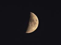 SONYのデジカメで月を撮りました。 - 写真で楽しんでます!