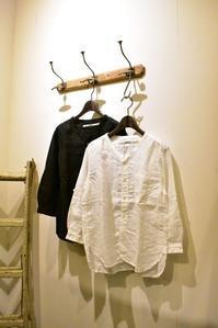 OMNIGOD/Linen Stand Collar Shirts&Lunch pants - JUILLET
