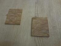 食器棚(カップボード)の埋め木 - 手作り家具工房の記録