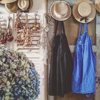 陶ボタンのサスペンダースカート  と  とっておきスイーツ♪ - MIFUMI*  Petite Couture Rie
