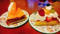 アローツリーのケーキでお祝い - 毎朝牛乳マンション日記2